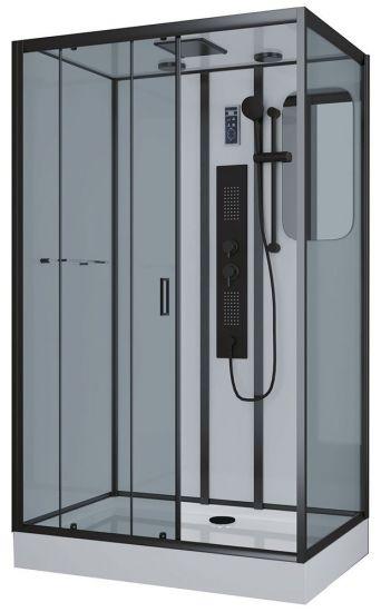 Душевая кабина Niagara Premium NG-6912-01GQL BLACK